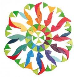 Gran Puzzle Creativo Flor Circular