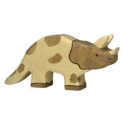 Figura de madera Holztiger Triceratops