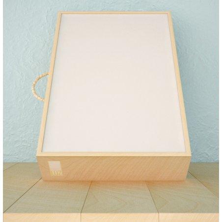 Caja de luz madera mediana 50x40x9cm