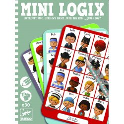 Mini Logix ¿Qui és qui?. Marca Djeco