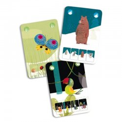 Joc cartes Mini Nature Djeco