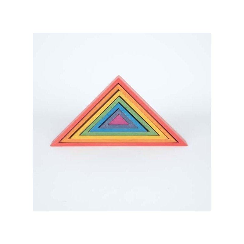 Triángulos arco iris