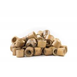Círculos de bambú