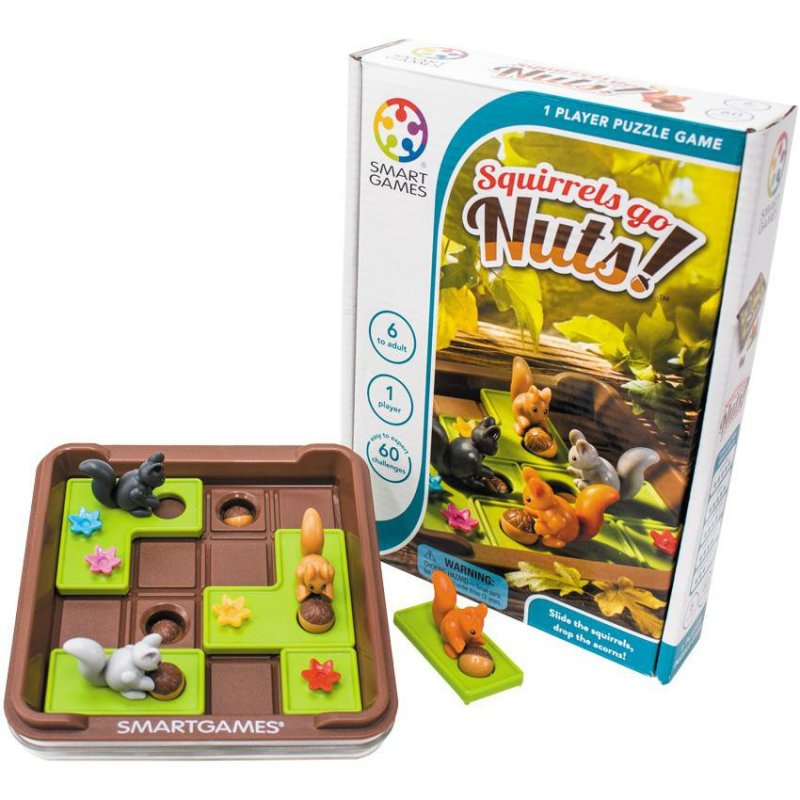 Rompecabeza ¡Ardillas! de Smart Games