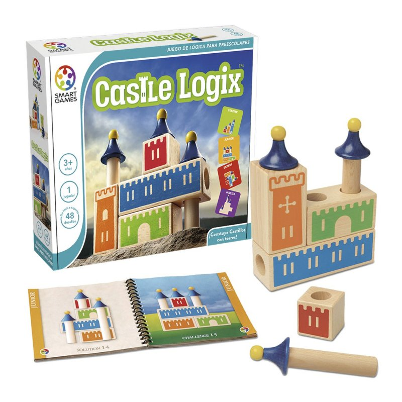 Joc de lògica Castle Logix de Smart Games
