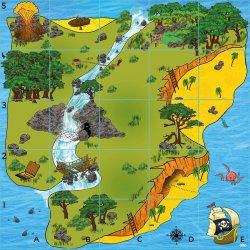 Mapa d'una illa per Bee-bot