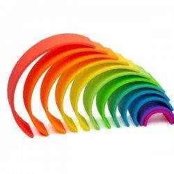 arco iris colores silicona