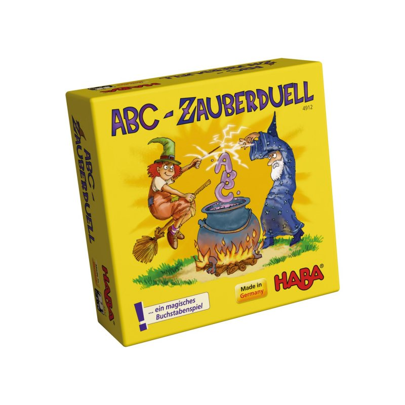 duel magic abc joc de cartes de Haba