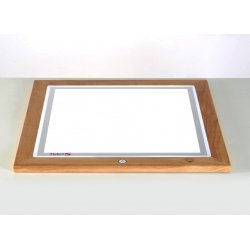 base de mesa de luz de 60 x 60 regulable