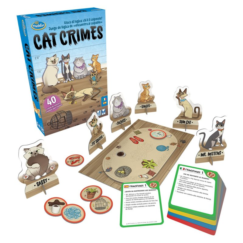 Juego de mesa Cat Crimes de ThinkFun
