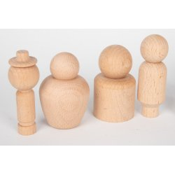 Comunitat de fusta per pintar