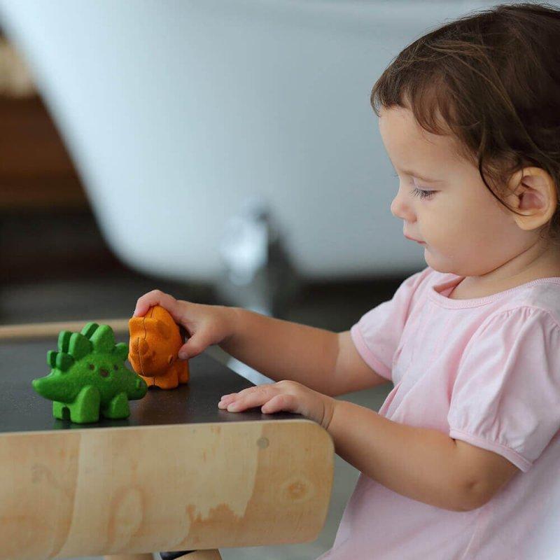 Dinosaurio de madera de Plan Toys