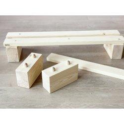 Barres mètode Pikler de fusta