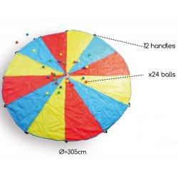 paracaigudes cooperatiu circular de Buitenspeel