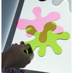 Splats de colores de Tickit