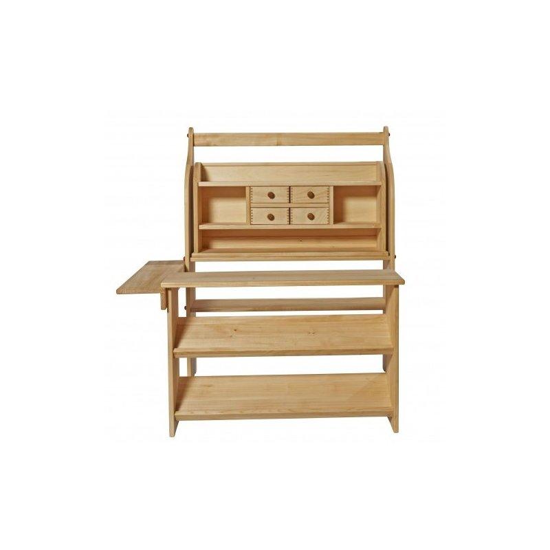 Gran botiga de fusta d'alta qualitat