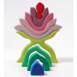 flor de madera piezas grimms