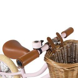 Bicileta amb cistell First Go Banwood rosa