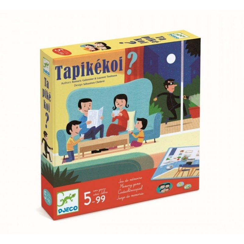 Juego de mesa Tapikekoi de Djeco