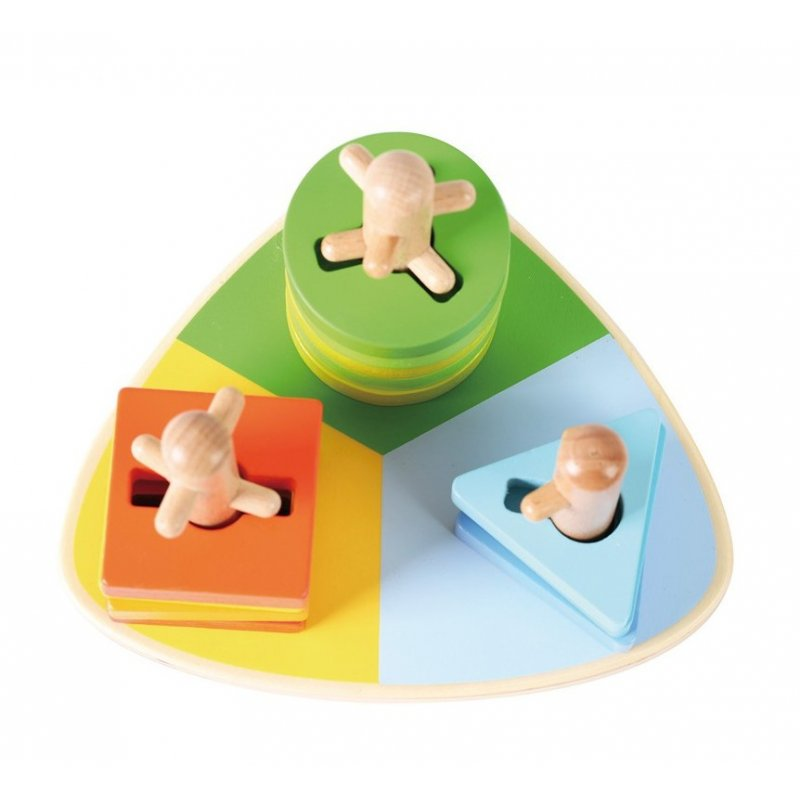 Triangle encaixable Stacker d'Andreu Toys