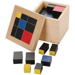 Cub de Trinomi álgebra Montessori
