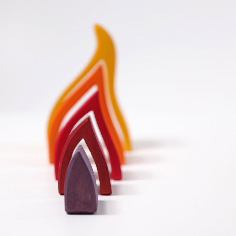 Foc de fusta de grimms