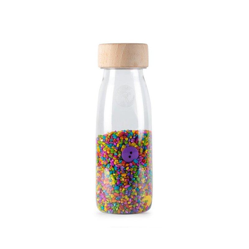 Botella sensorial sonora Buttons Petit Boum