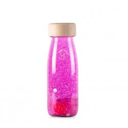 Float Bottle Green ampolla sensorial rosa