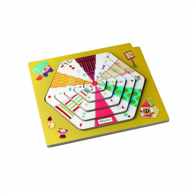 Puzzle de capas El Circo