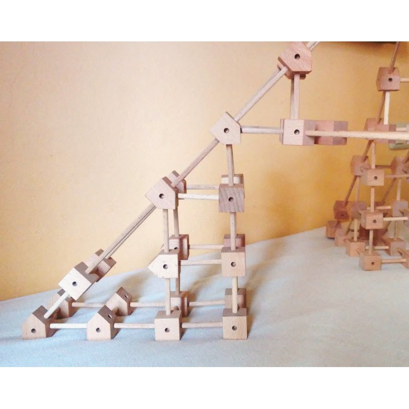 Mini Trigonos 550 piezas de construcción modular