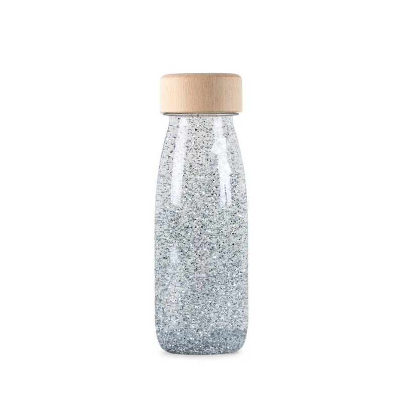Float Bottle Silver ampolla sensorial de Petit Boum