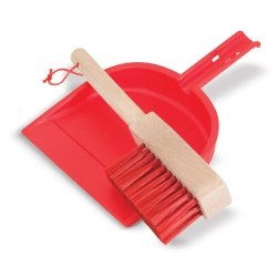 Pack de limpieza de juguete de madera