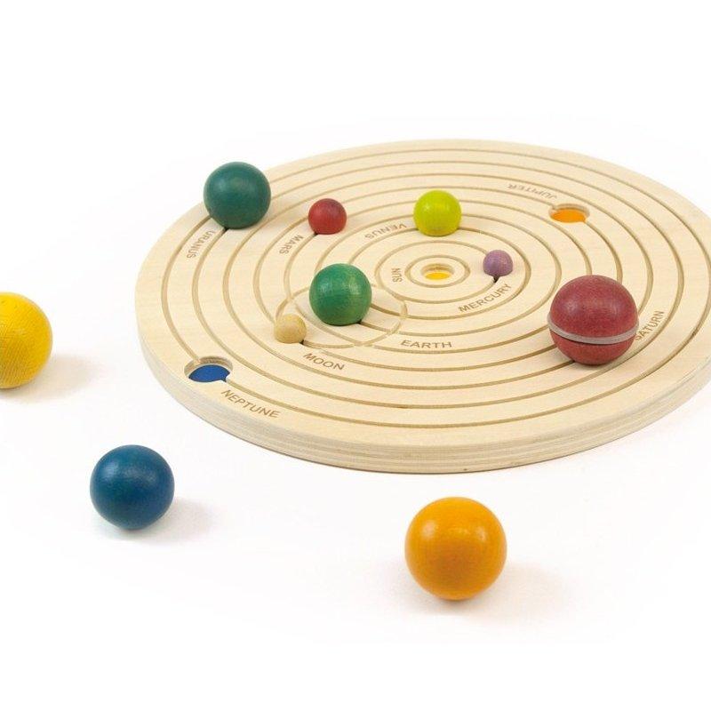 El nostre sistema solar de fusta d'Andreu Toys