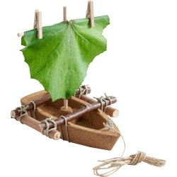 Barca amb materials naturals de Terra Kids