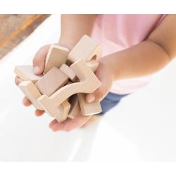 Sum Blox piezas de madera con 80 targetas