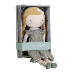 Muñeca de tela rubia de Little Dutch
