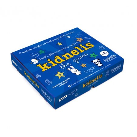 Kidnelis the game: truth, fibs and imagination.