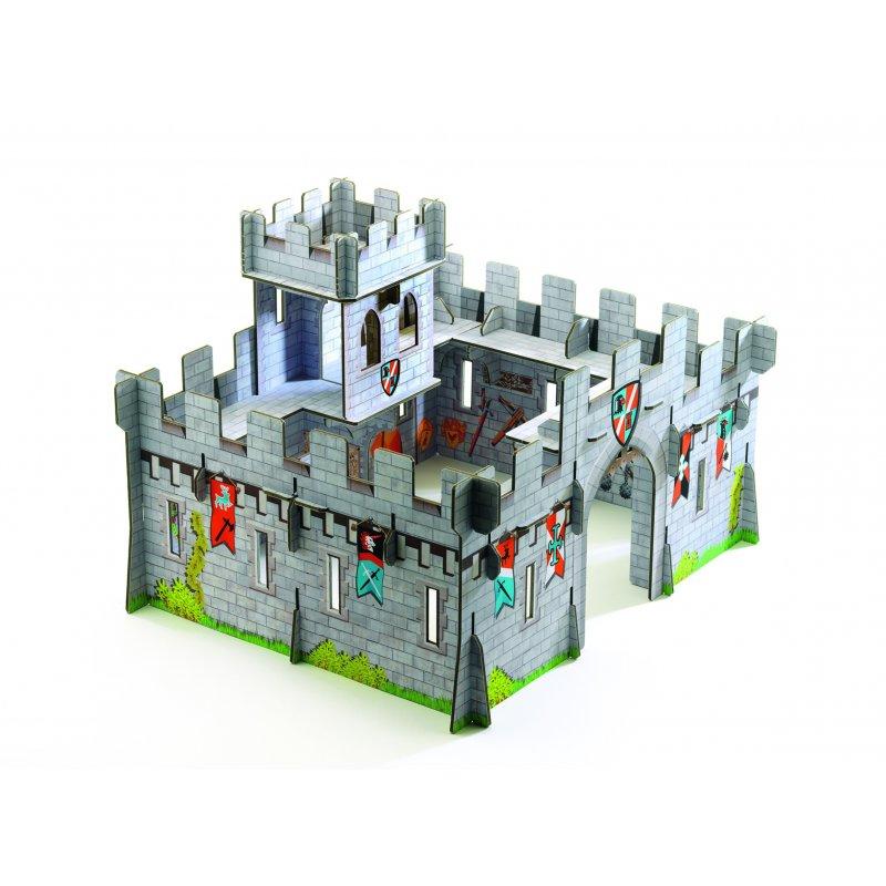 Castillo de cartón 3D