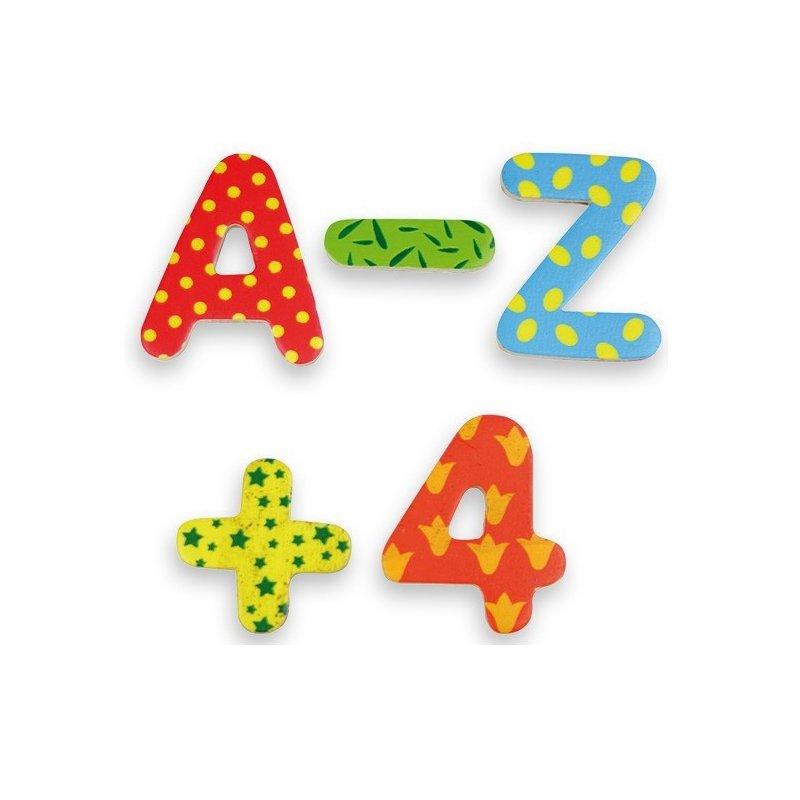 Números i lletres magnètiques decorades Andreu Toys