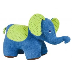 Peluix seient Elefant natural