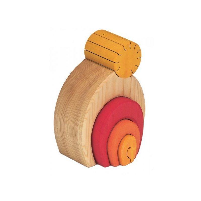 La Casita del Sol, joguina de fusta, pedagogia waldorf, Nictoys