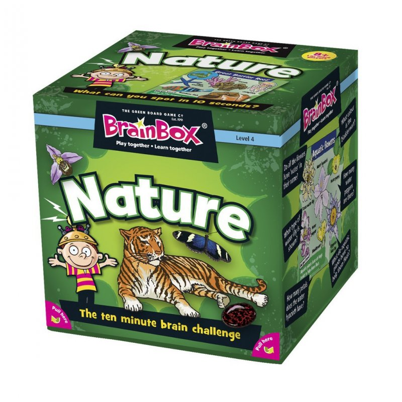 Brain Box Nature - inglés 31690003