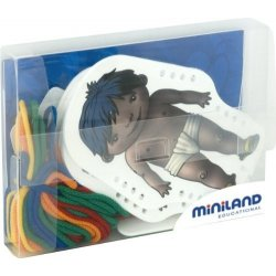 36046 World Kids Sewing Shapes by Miniland