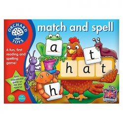 Match and spell (lletrejar en anglès)