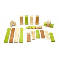 Bloques mágicos de madera 24 piezas color Jungla