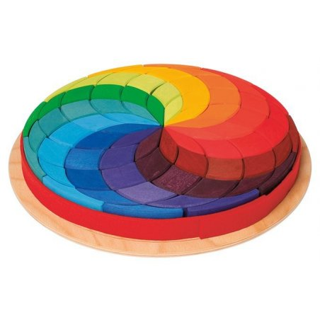 Puzzle Creativo Espiral de Color