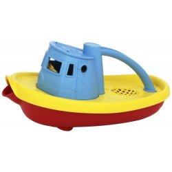 Barco remolcador de plástico reciclado Green Toys