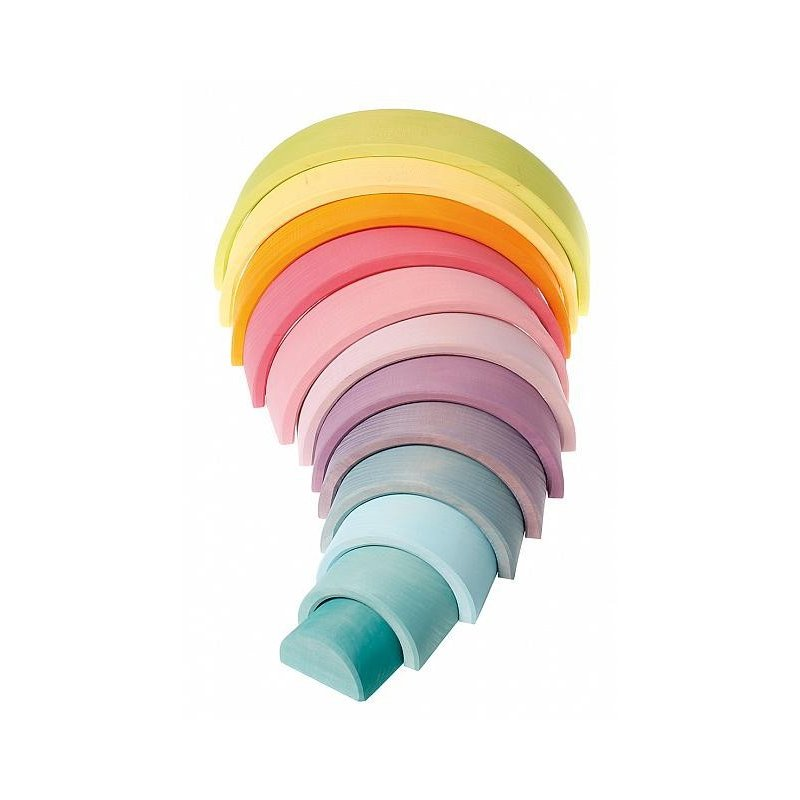 Arco Iris Waldorf en tonos pastel