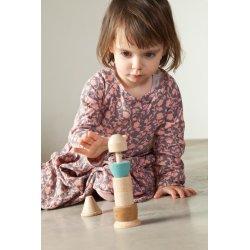 Joc de enfilar peces de fusta per a nadons