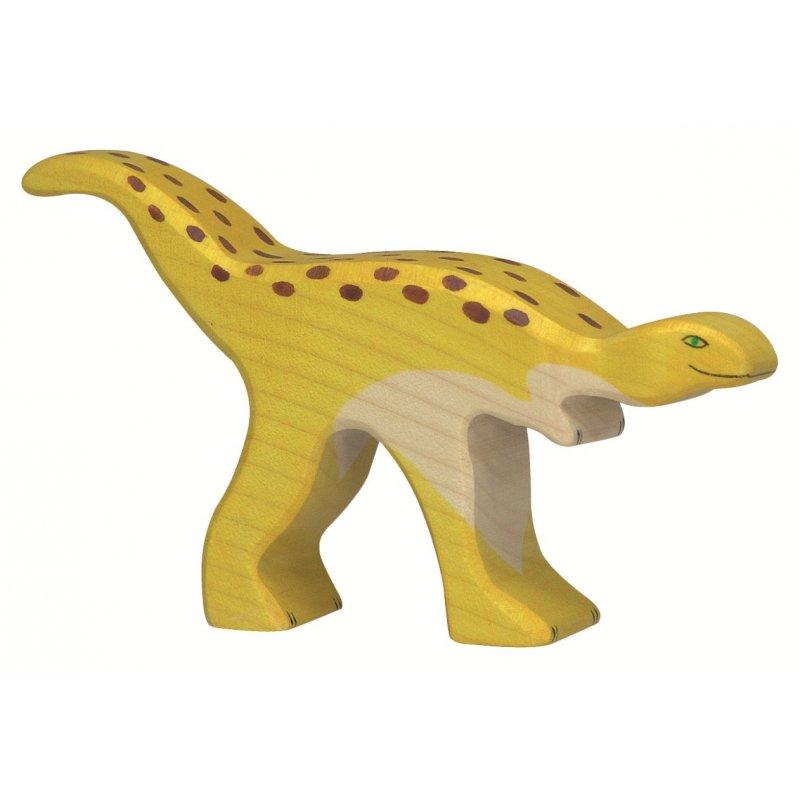Estaurikosaure. Joguina de fusta. Holztiger